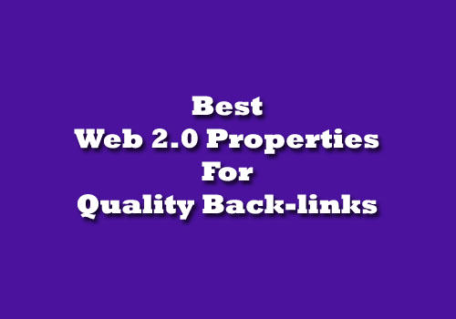 Best Web 2.0 Properties List