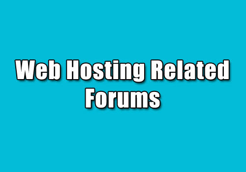 Web Hosting Related Forums