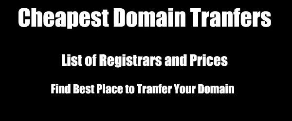 Cheap Domain Transfer